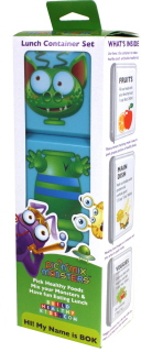 Bok (green) Pic 'n' Mix Monster container set