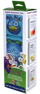Fuji (blue) Pic 'n' Mix Monster container set
